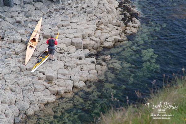 Staffa: auch Ziel für Wassersportler