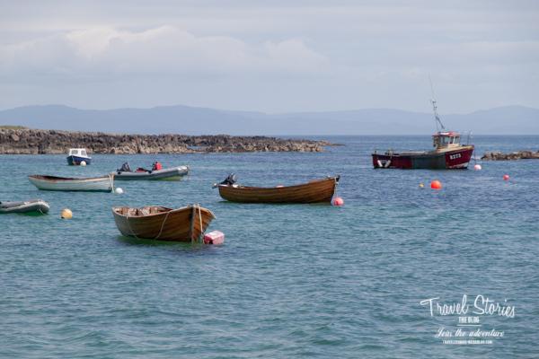 Am Hafen von Iona