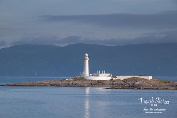 Leuchtturm auf dem Weg nach Staffa