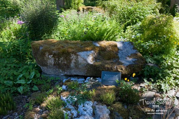 Schattiger Platz in June Blake's Garden in Blessington