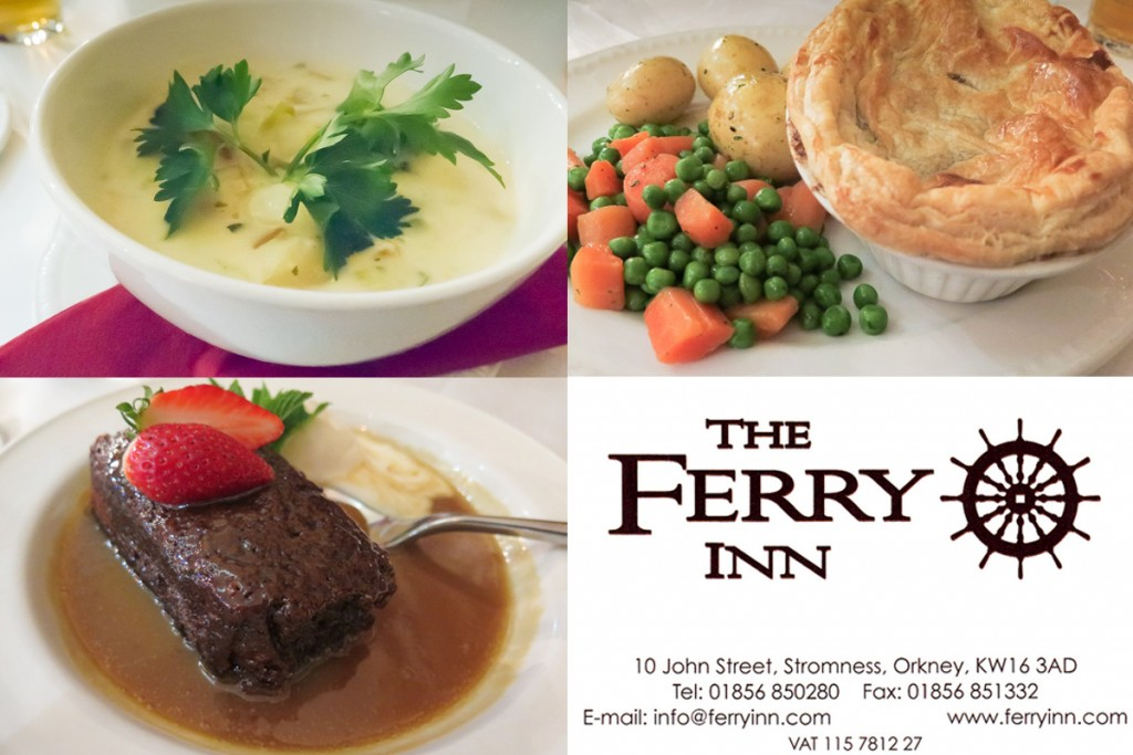 Ferry Inn Stromness Collage