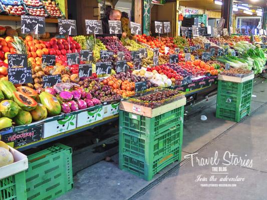Mediterran-orientalischer Marktstand