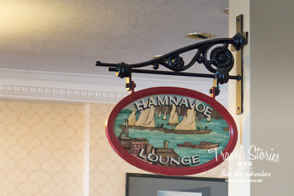 """In der Bar """"Hamnavoe Lounge"""" vom Stromness Hotel ist es während des Orkney Folk Festivals nur zwischen 8 Uhr morgens und 12 Uhr mittags ruhig. ©Sabine Mey-Gordeyns"""