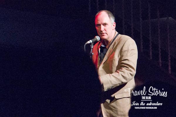 Bob Gibbon, Festival Director vom Orkney Folk Festival in der Town Hall von Stromness ©Sabine Mey-Gordeyns