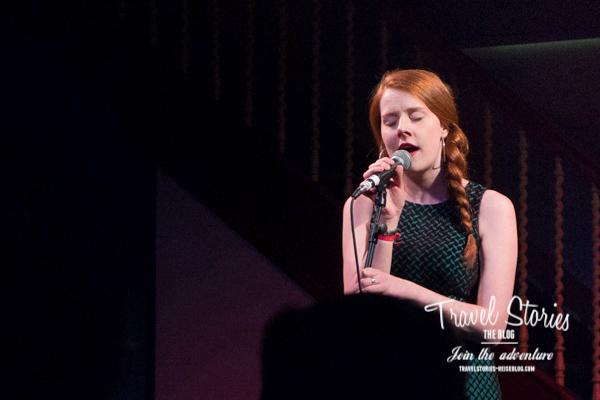 Hannah Rarity beim Orkney Folk Festival 2015 in der Town Hall von Stromness - Farewell Concert ©Sabine Mey-Gordeyns