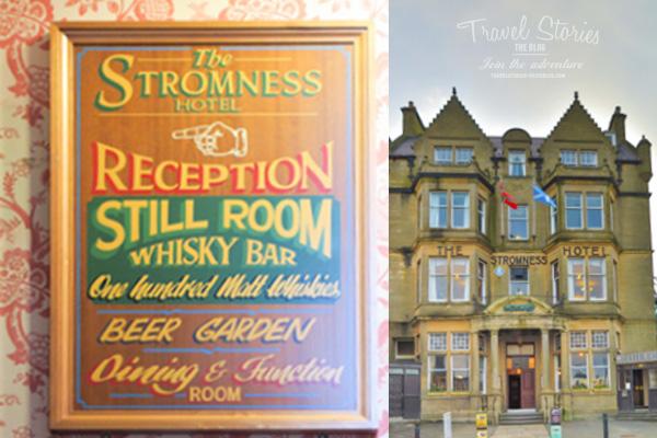 Inoffizielles Zentrum des Orkney Folk Festival: Stromness Hotel. Alles Vintage. Aber echt! ©Sabine Mey-Gordeyns