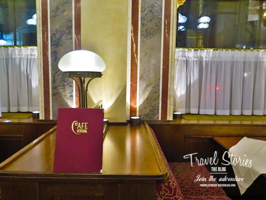 Frei Plätze im Cafe Central Wien