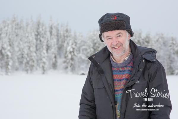 Sonny Holmberg erklärt die Natur und die Grundbegriffe des Eisangelns ©Sabine Mey-Gordeyns