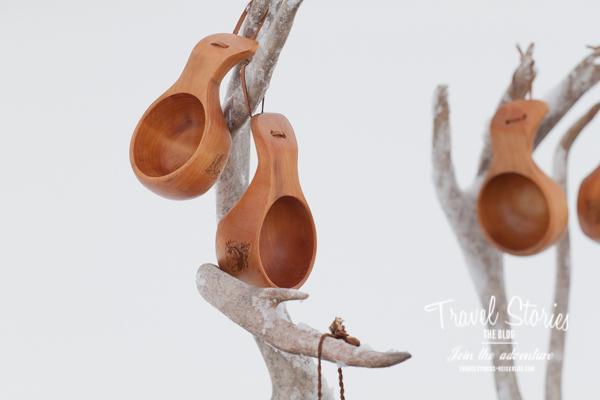 Holzbecher der Samen - Kuksa ©Sabine Mey-Gordeyns