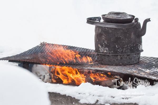 Feuer im Schnee ...©Sabine Mey-Gordeyns