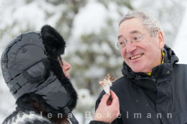 Gute Laune beim outdoor-bbq ©Elena Bokelmann