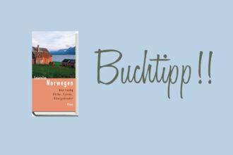 Buchcover Lesereise Norwegen