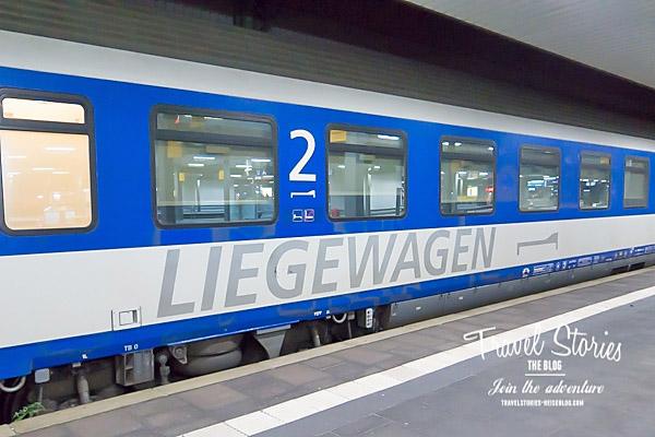 Liegewagen vom EN 421 nach Wien ©Sabine Mey-Gordeyns, travelstories-reiseblog.com
