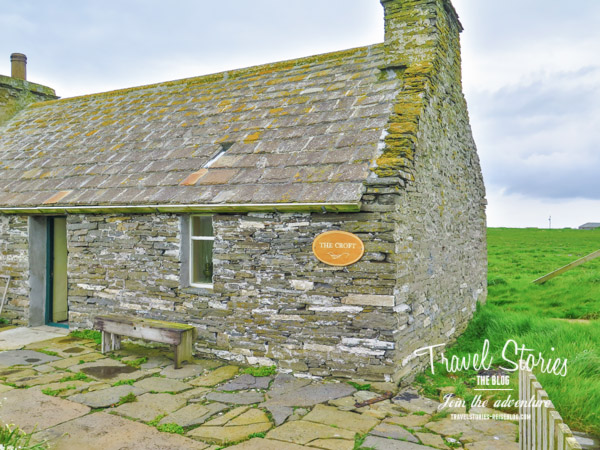 The Croft auf Sanday - ein kleines Museum zeigt das frühere Leben der Kleinbauern (Crofter) ©Sabine Mey-Gordeyns