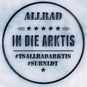 Allrad Arktis-mit Hintergrund