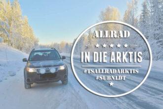 Subaru Forester in Schwedisch Lappland ©Sabine Mey-Gordeyns