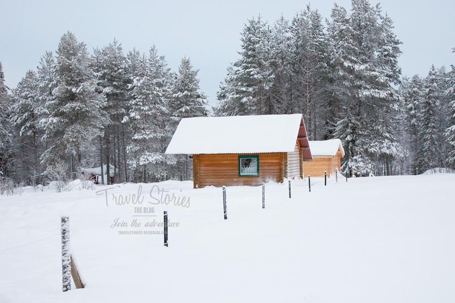 In dieser gemütlichen Hütte haben wir übernachtet ©Sabine Mey-Gordeyns