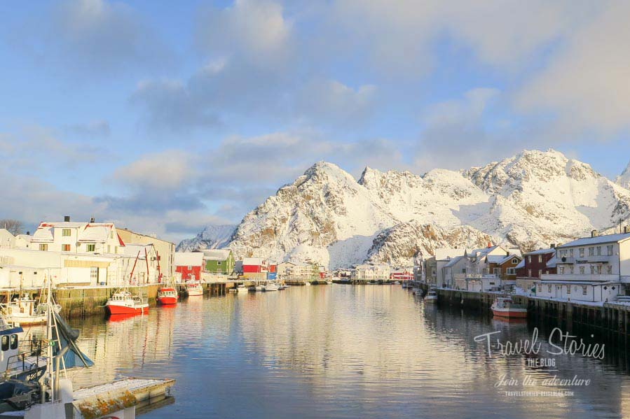 Henningsvaer im Winter ©Sabine Mey-Gordeyns