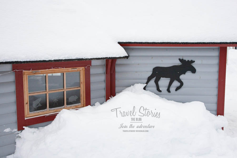 Lilla Lappland - tief verschneit - lohnt auch einen Besuch im Winter ©Sabine Mey-Gordeyns