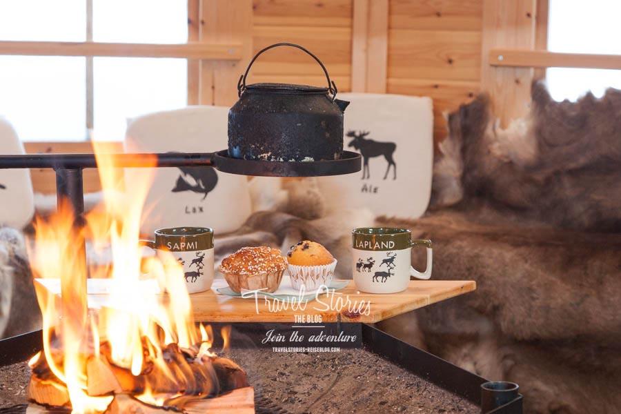Fika, die klassische schwedische Kaffeepause, in der Kota. ©Sabine Mey-Gordeyns