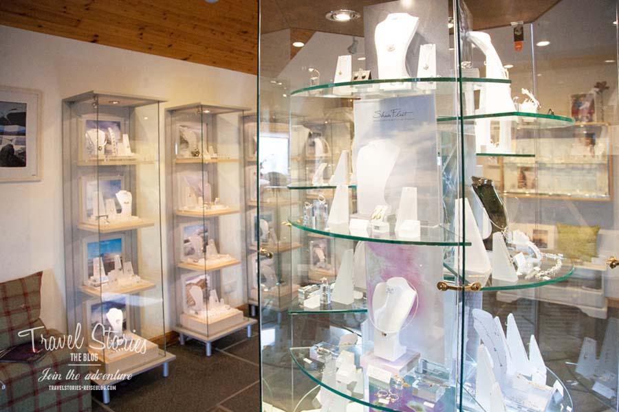 Showroom von Sheila Fleet Jewelry in Tankerness, Orkney Islands ©Sabine Mey-Gordeyns