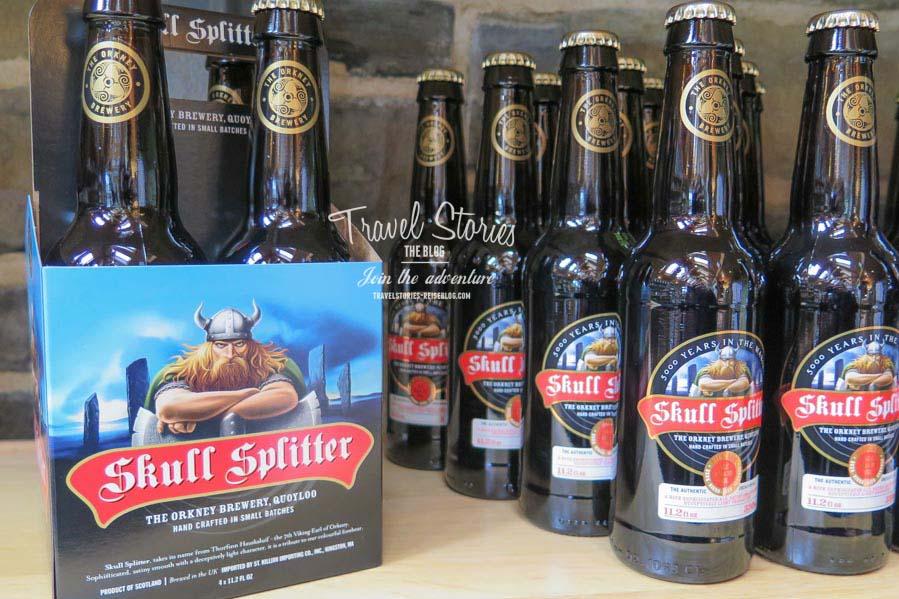 Wikinger-Bier: Skull Splitter aka Schädelspalter ©Sabine Mey-Gordeyns
