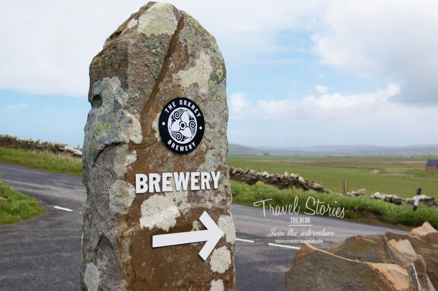 Die Orkney Brewery erreicht man am besten mit dem eigenen PKW ©Sabine Mey-Gordeyns