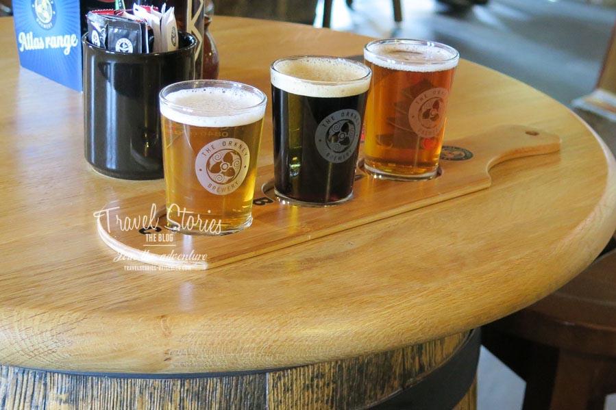 Bierverkostung in der Tasting Hall ©Sabine Mey-Gordeyns
