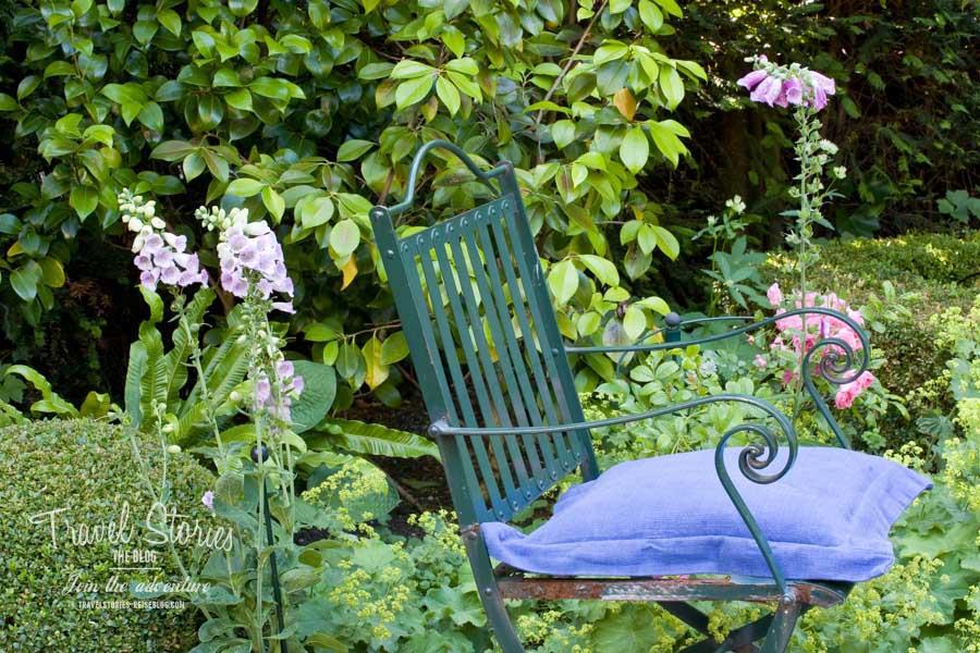 Oase in der Großstadt: Garten in Amsterdam ©Sabine Mey-Gordeyns