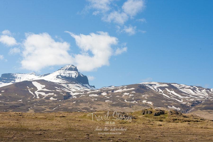 Elfenburg vor grandioser Bergszenerie ©Sabine Mey-Gordeyns