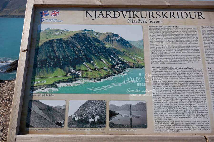 Infotafel beim Naddakross ©Sabine Mey-Gordeyns