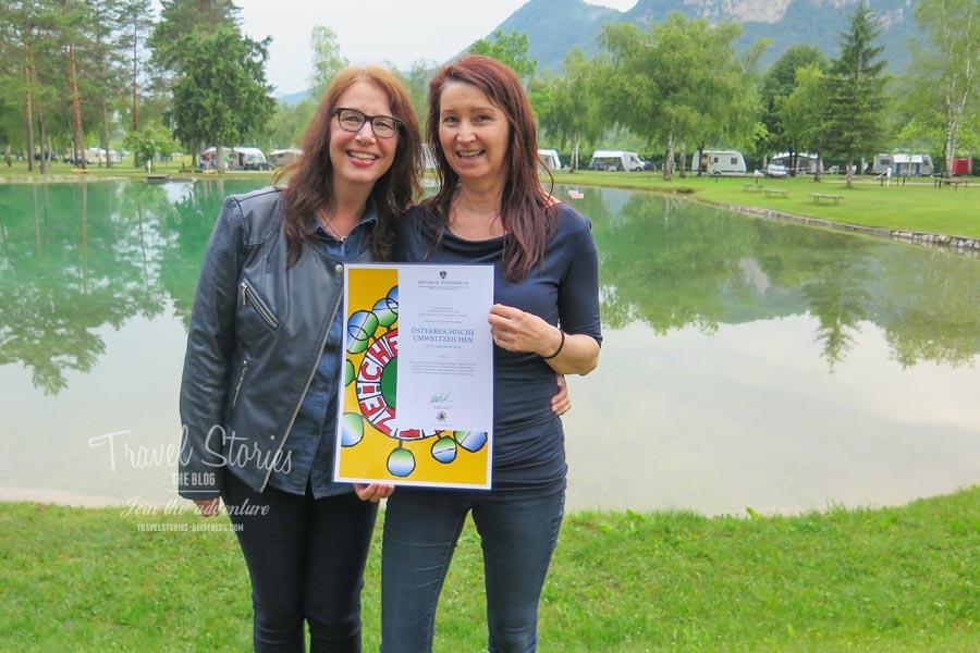 Danke für die schöne Zeit im Rosental, Katharina! ©Sabine Mey-Gordeyns, travelstories-reiseblog.com