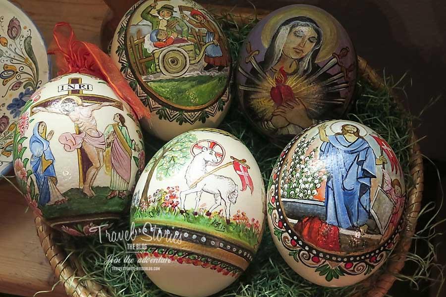 Kein Ei ist zu gross oder zu klein für Marias Motive ©Sabine Mey-Gordeyns, travelstories-reiseblog.com