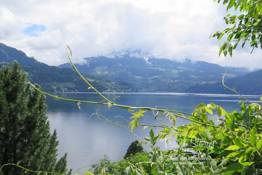 Ausblicke während der Mountainbike-Tour vom schönen Südufer des Millstätter Sees ©Sabine Mey-Gordeyns, travelstories-reiseblog.com