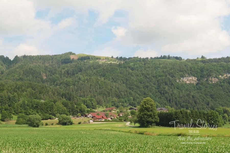 Das Hochplateau vom Radsberg, unser heutiges Wanderziel ©Sabine Mey-Gordeyns, travelstories-reiseblog.com
