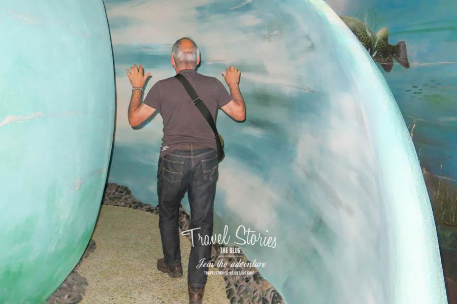 Tom betritt den Zaubergang der in die Seewelt führt - ob das wohl gut geht? ©Sabine Mey-Gordeyns, travelstories-reiseblog.com