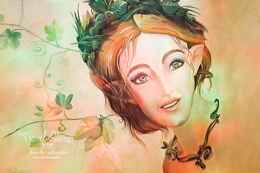 Florauna, das Sagamundo-Maskottchen ©Sabine Mey-Gordeyns, travelstories-reiseblog.com