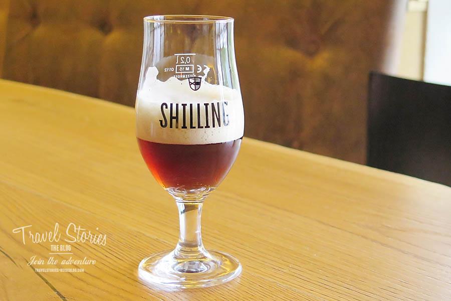 Shilling Granatbier - dunkel und würzig ©Sabine Mey-Gordeyns, travelstories-reiseblog.com