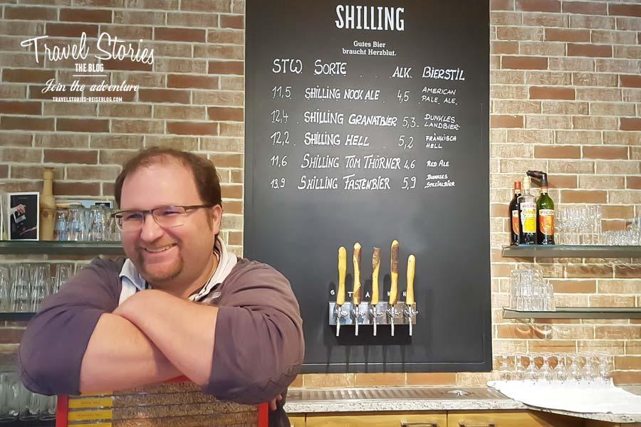 Uli Bacher braut Bier mit Herzblut ©Sabine Mey-Gordeyns, travelstories-reiseblog.com