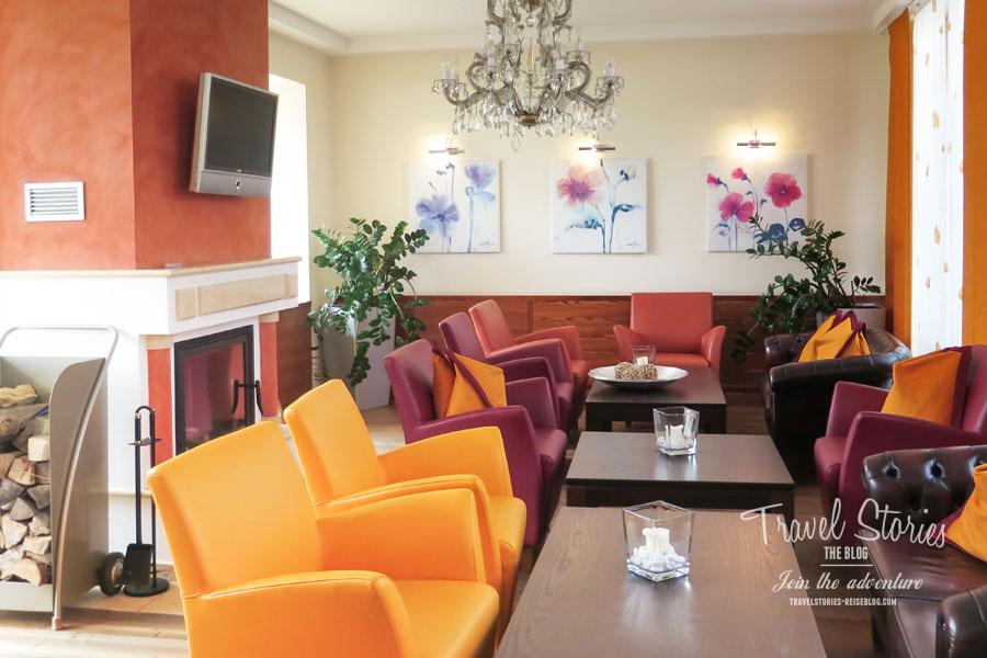 Lobby im Hotel Sonne © Sabine Mey-Gordeyns, travelstories-reiseblog.com