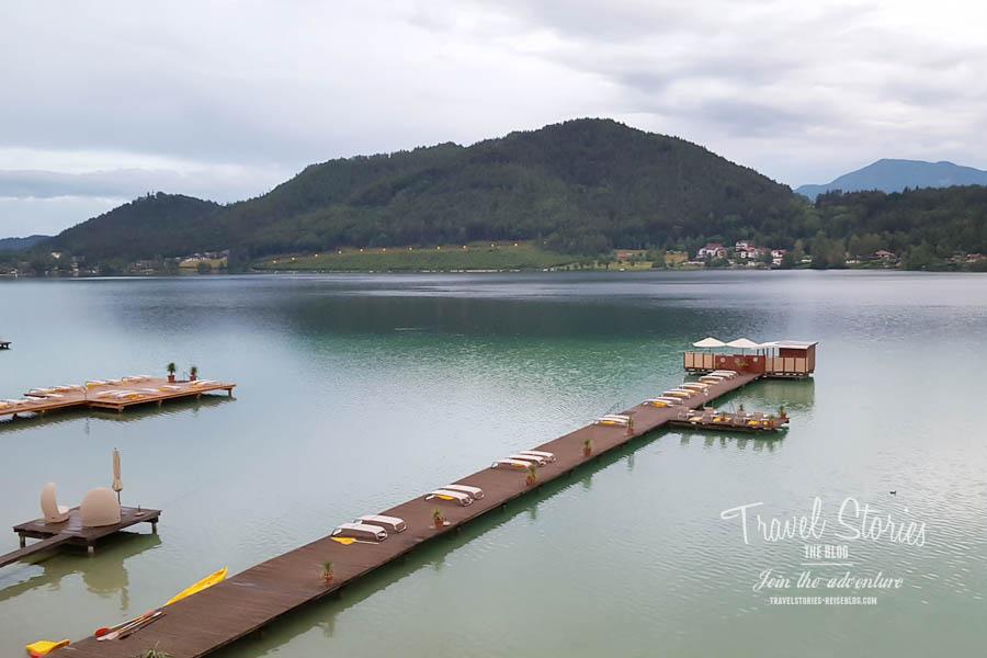 Seeblick auf den Klopeiner See ©Sabine Mey-Gordeyns, travelstories-reiseblog.com