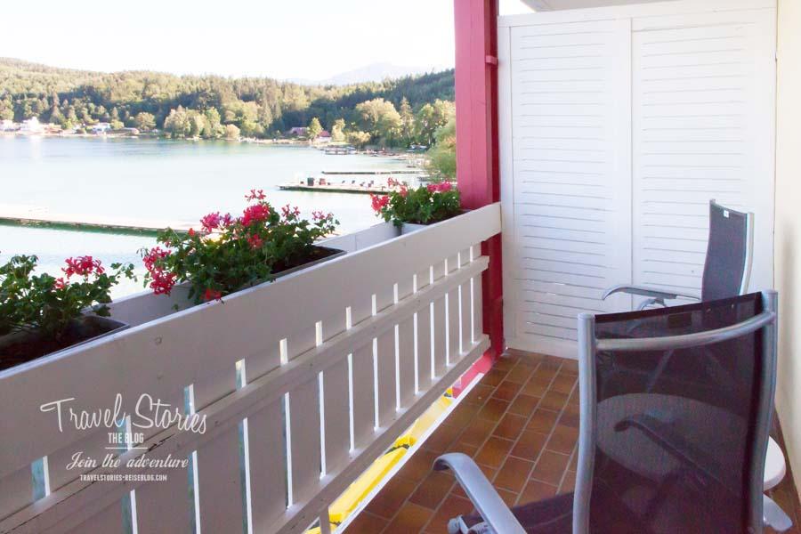 Auf dem Balkon mit Seeblick lässt es sich ziemlich gut aushalten ©Sabine Mey-Gordeyns, travelstories-reiseblog.com