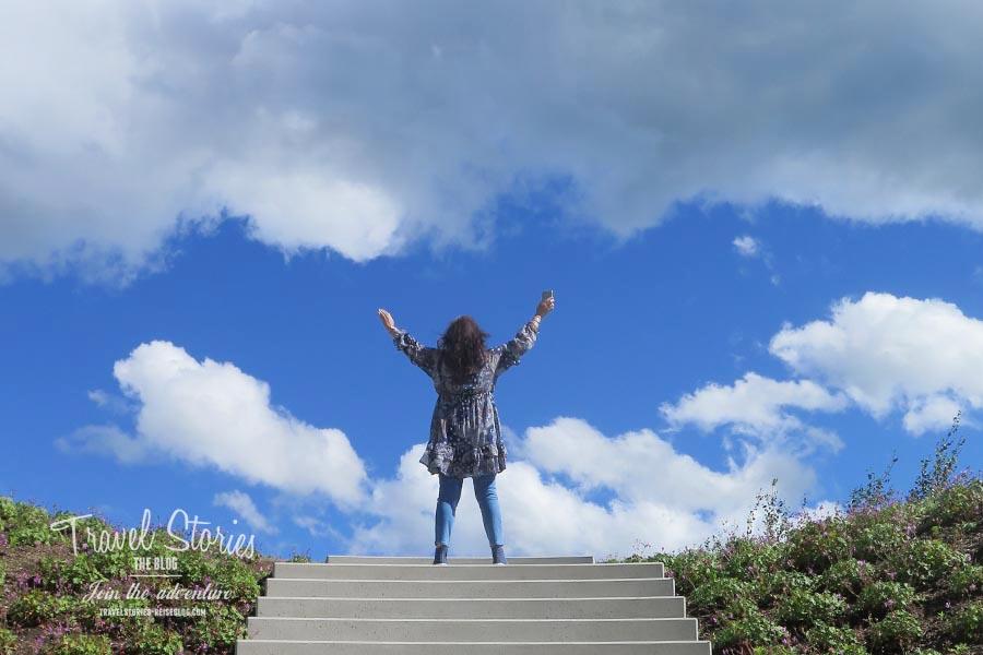Ein perfekter Moment im Skulpturengarten © Sabine Mey-Gordeyns, travelstories-reiseblog.com