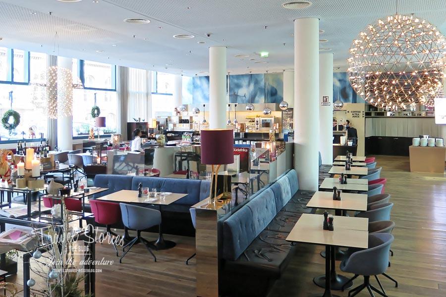 Das Restaurant im Scandic Emporio Hamburg © Sabine Mey-Gordeyns, travelstories-reiseblog.com