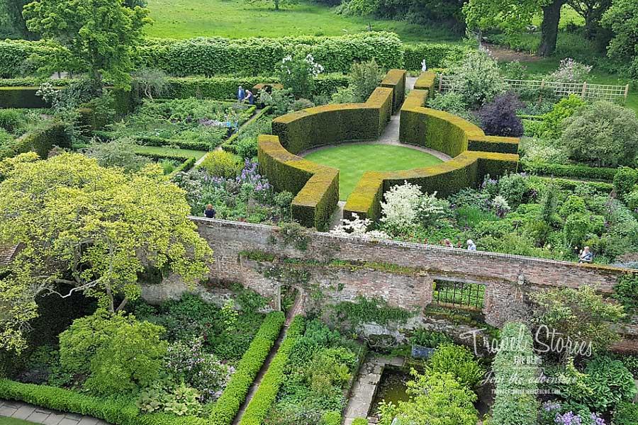 Weißer Garten Sissinghurst die schönsten gärten in sissinghurst castle garden in kent