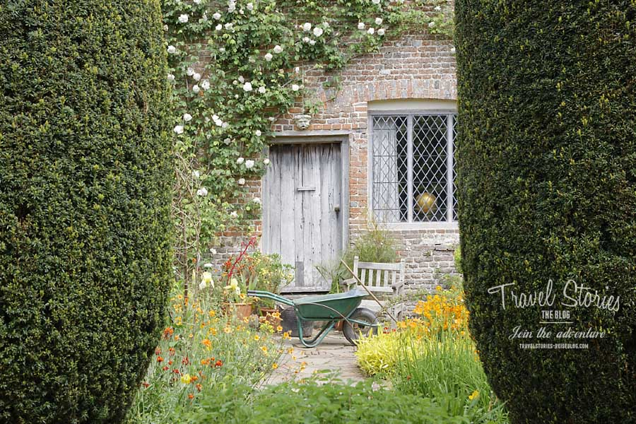 die sch nsten g rten in england sissinghurst castle garden in kent travelstories magazin. Black Bedroom Furniture Sets. Home Design Ideas
