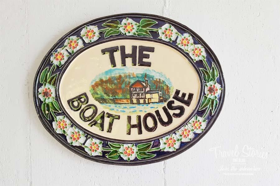 Das Bootshaus in Greenway House & gardens ©Sabine Mey-Gordeyns, travelstories-reiseblog.com