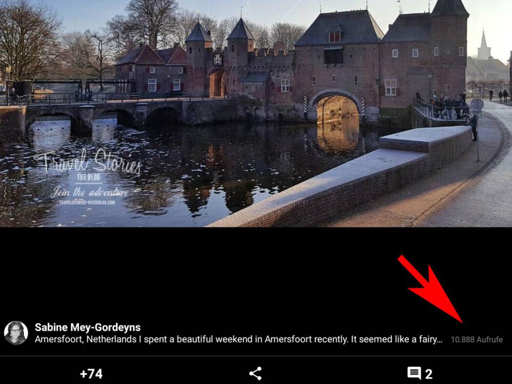 11.807 Aufrufe für Destination Amersfoort - Niederlande