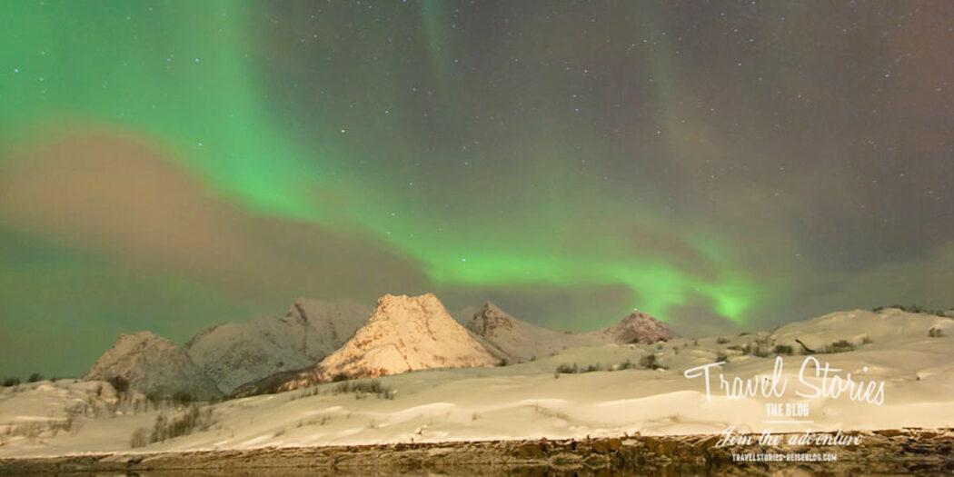 Nordlicht beobachten auf den Lofoten