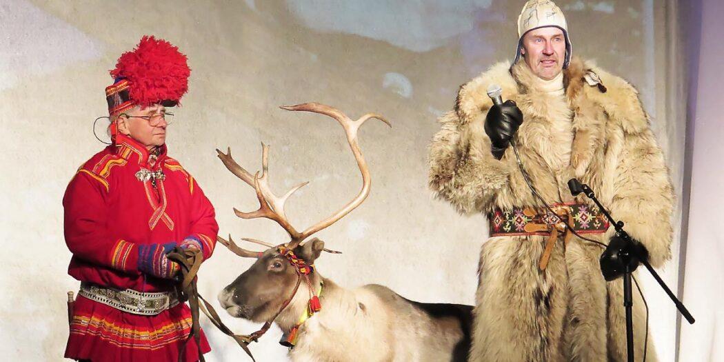Sami-Kultur auf dem Wintermarkt in Jokkmokk